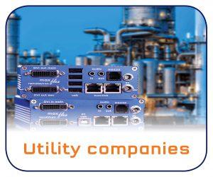 KVM Extender over IP for Utility companies